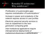 remedial it architecture why middleware