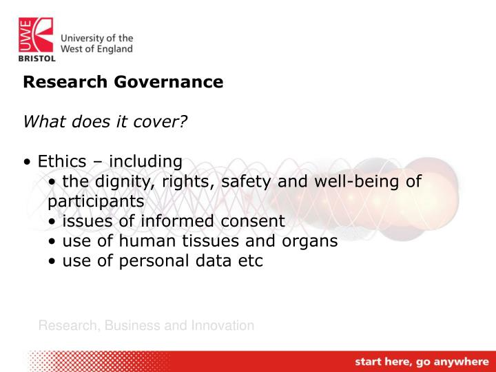 Research Governance