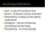 vocabulary definitions2