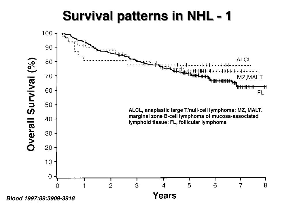 PPT - Incidence of lymphoid neoplasms by subtype and race