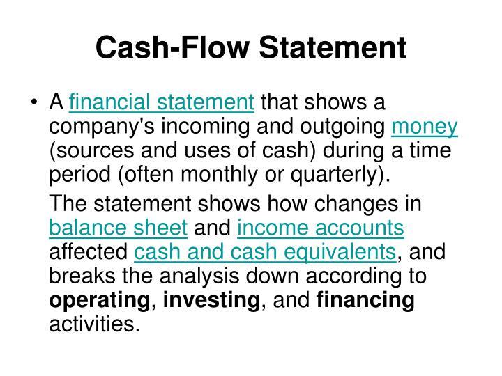 Cash-Flow Statement