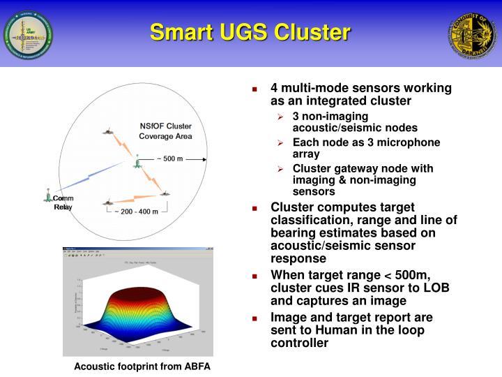 Smart ugs cluster