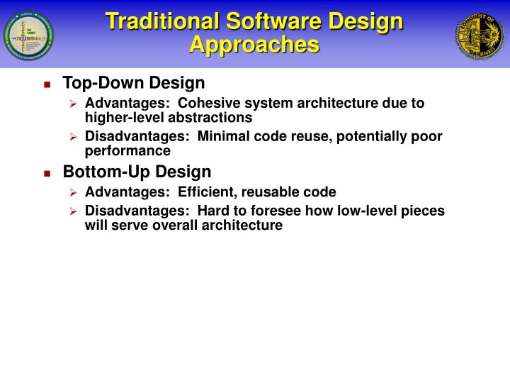 Traditional Software Design