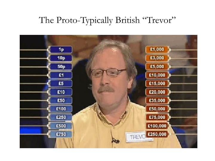 "The Proto-Typically British ""Trevor"""