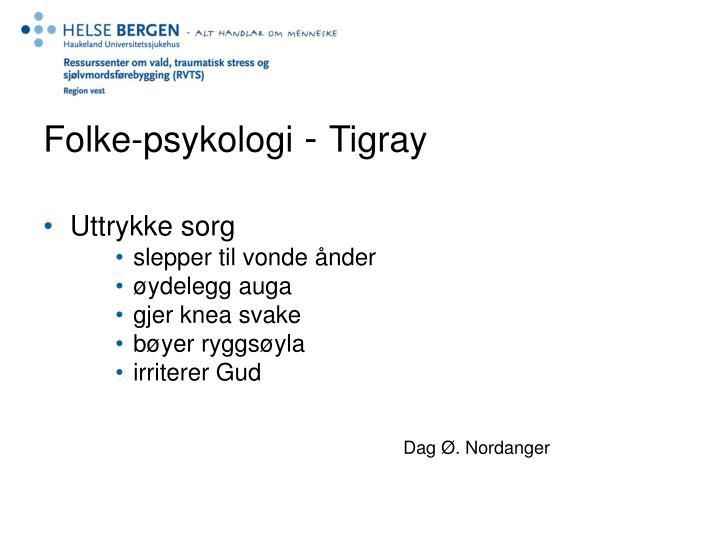 Folke-psykologi