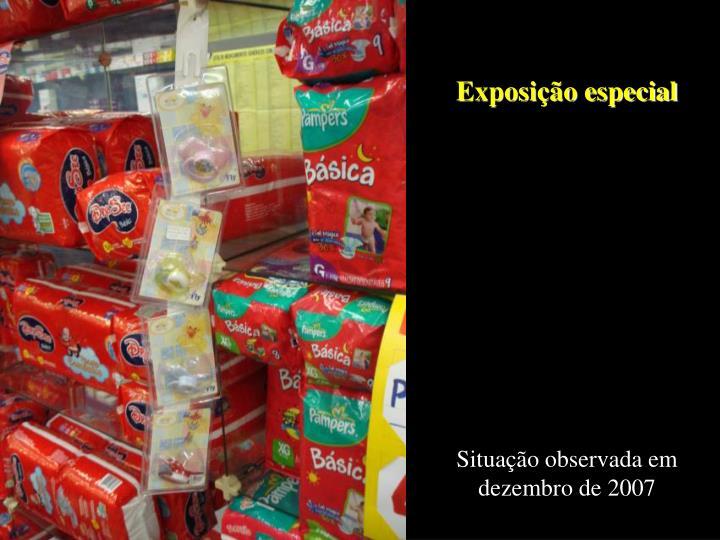Exposição especial