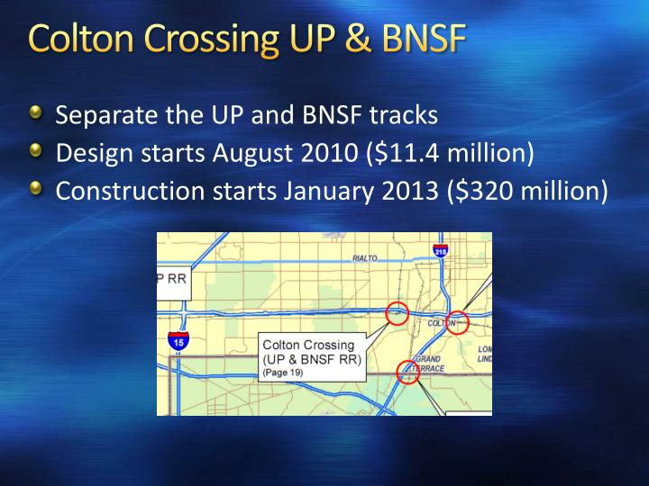 Colton Crossing UP & BNSF