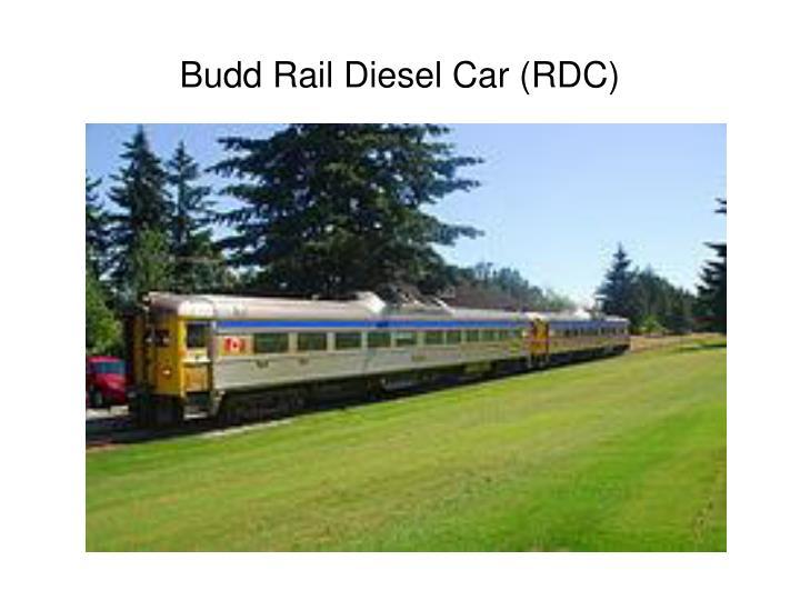 Budd Rail Diesel Car (RDC)