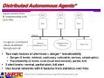 distributed autonomous agents