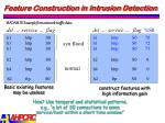 feature construction in intrusion detection1