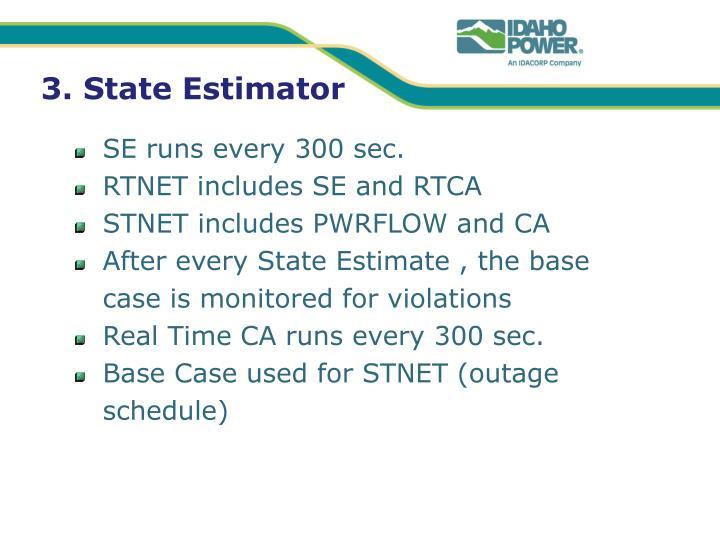 3. State Estimator
