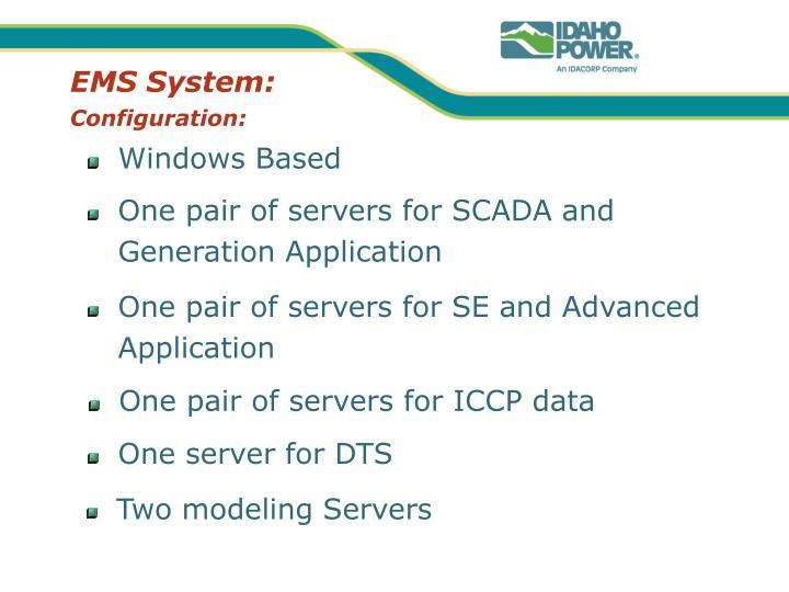 EMS System: