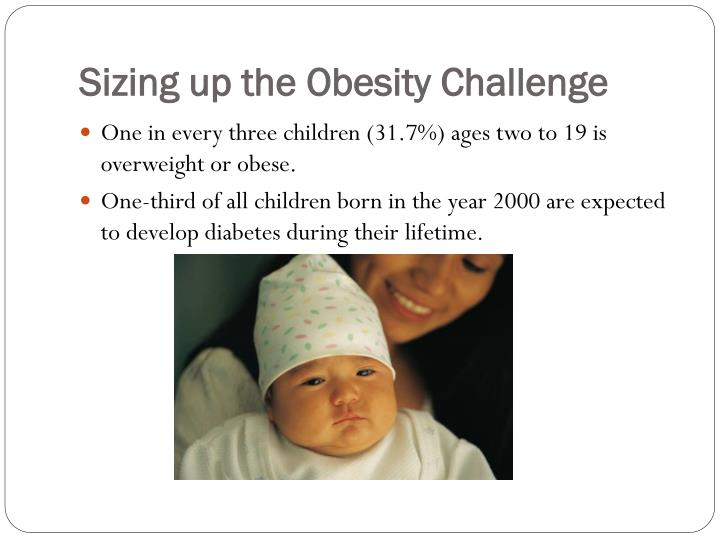 Sizing up the Obesity Challenge