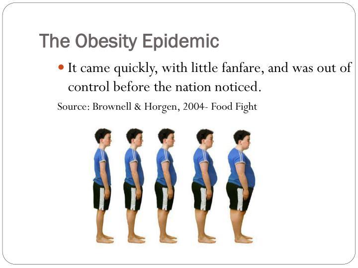 The Obesity Epidemic
