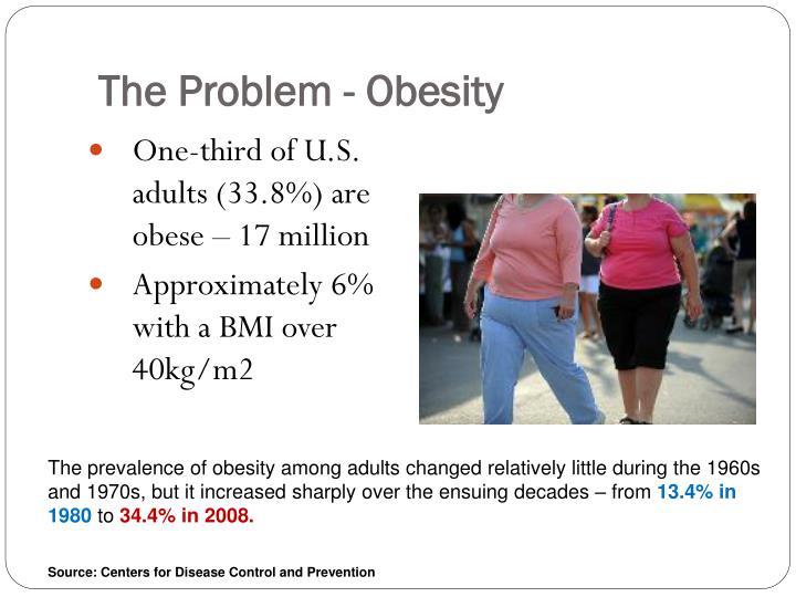 The Problem - Obesity