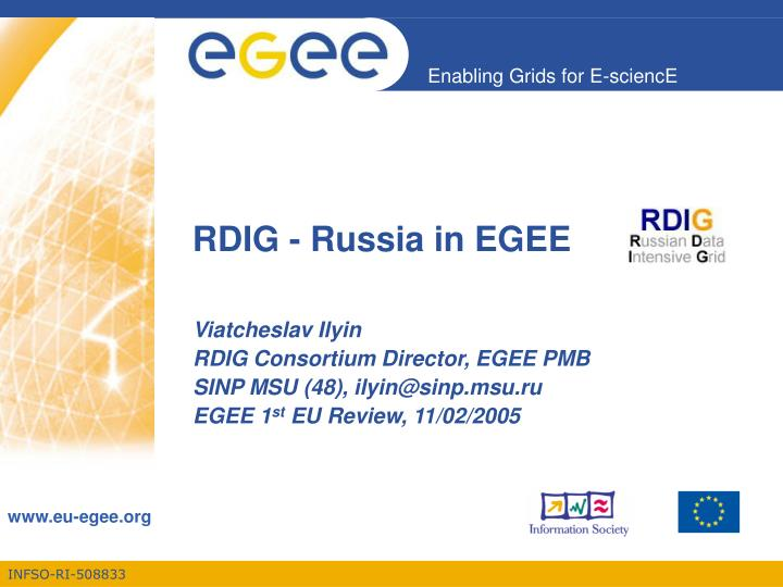 Rdig russia in egee