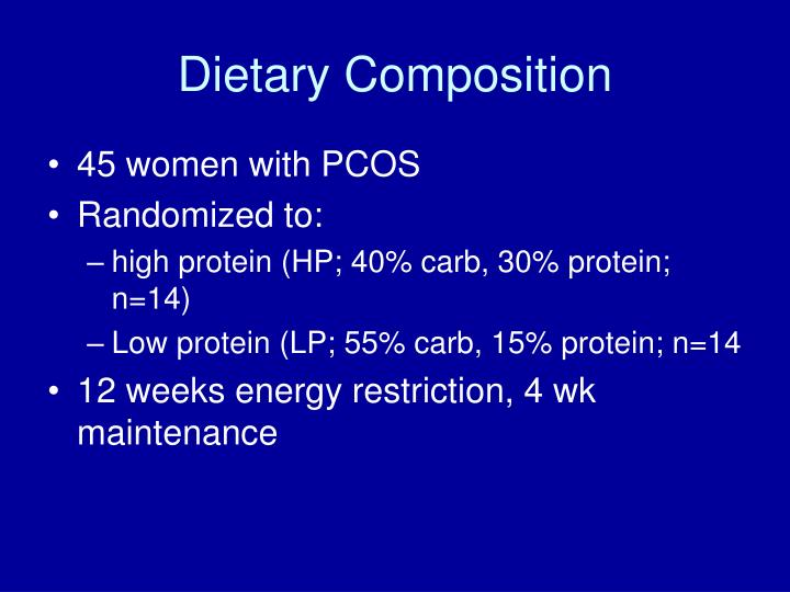 Dietary Composition