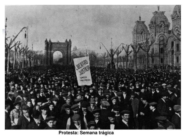 Protesta: Semana trágica