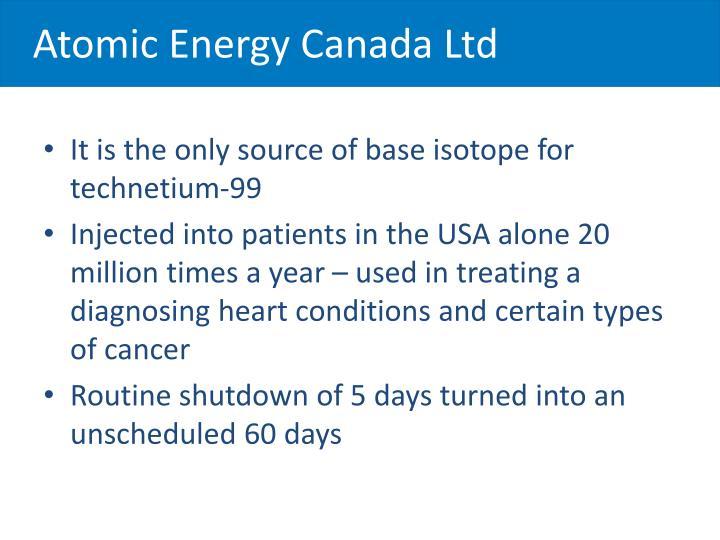 Atomic Energy Canada Ltd