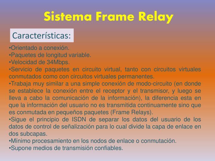 Sistema Frame Relay