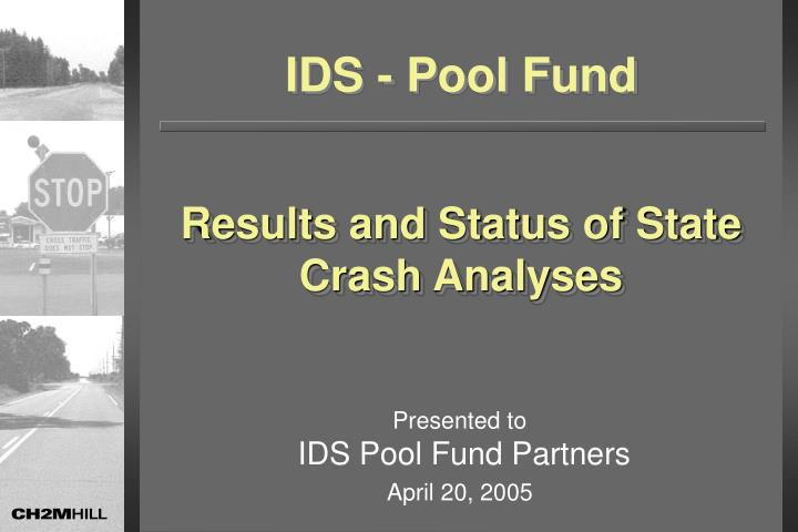PPT - Results and Status of State Crash Analyses PowerPoint