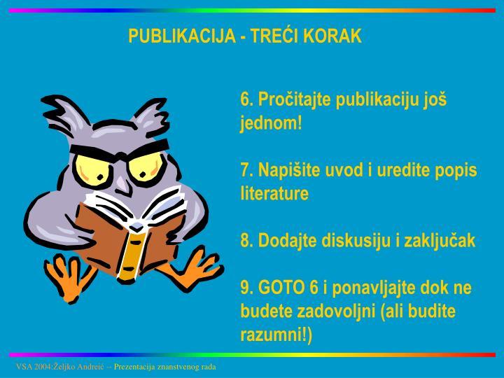 PUBLIKACIJA - TREĆI KORAK