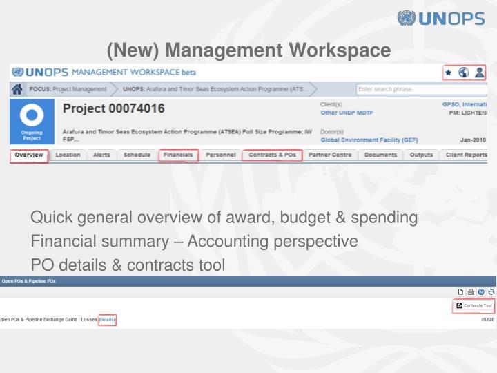 (New) Management