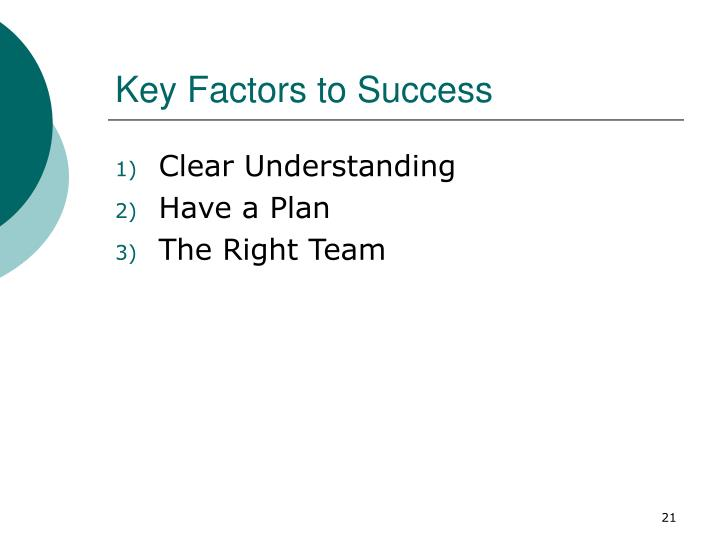 three key factors of a successful family Proponents of common factors would say that the therapy was successful because it reflected the four common factors of all therapies and the three common factors unique to family therapy t actively took measures to maximize the core effective factors of therapy.