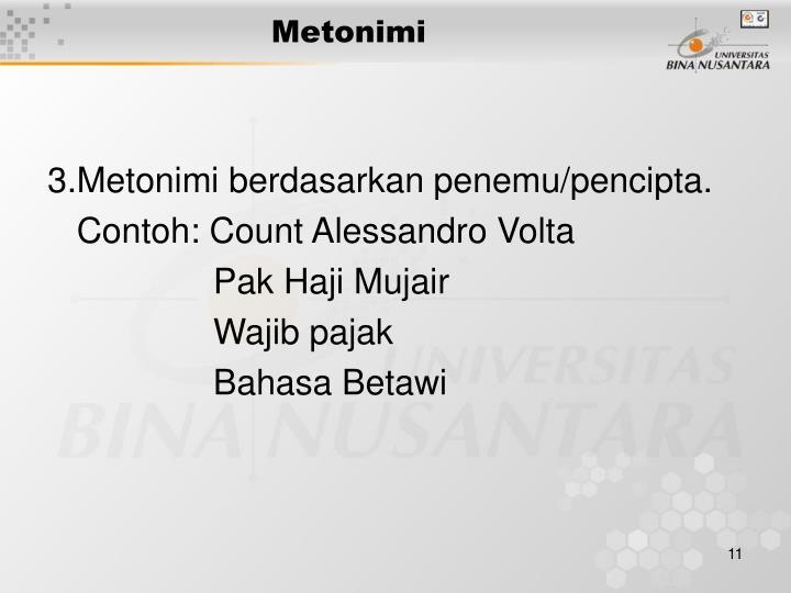 Metonimi