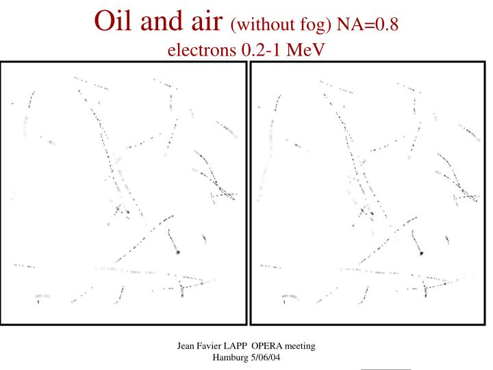 Oil and air