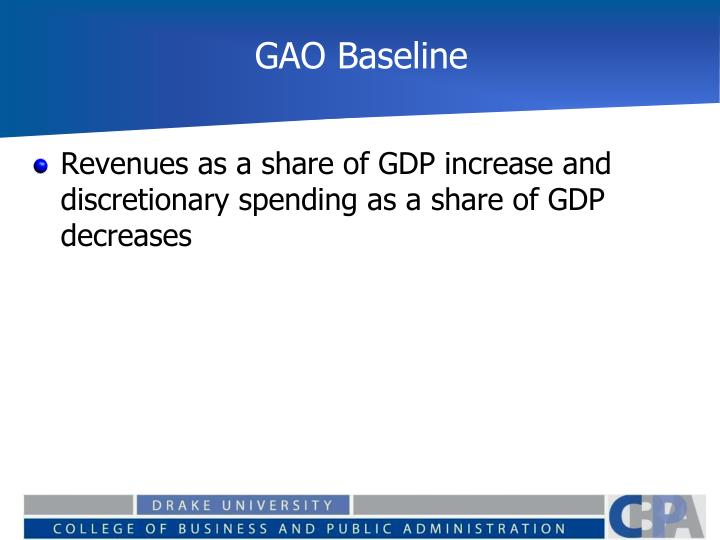 GAO Baseline