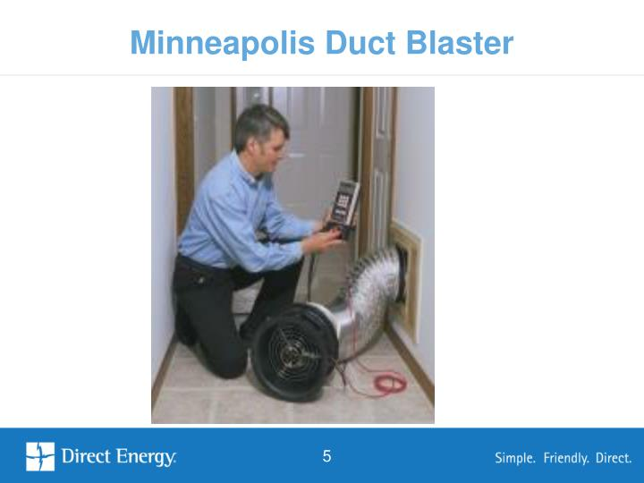 Minneapolis Duct Blaster