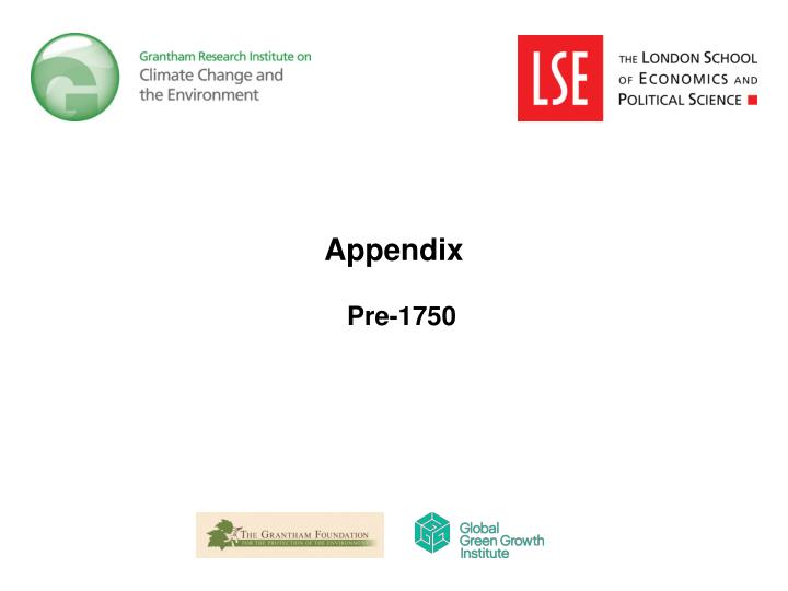 Appendix