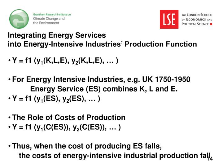 Integrating Energy Services