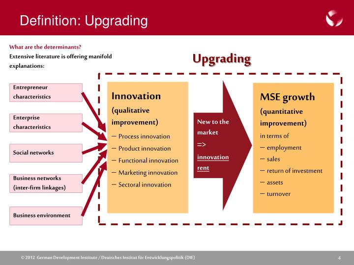 Definition: Upgrading