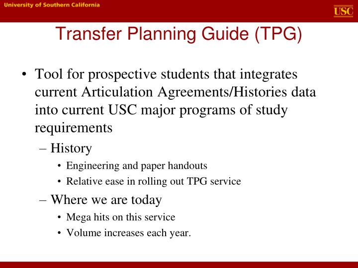 Ppt 2012 ciac anaheim ca powerpoint presentation id4771185 transfer planning guide tpg platinumwayz