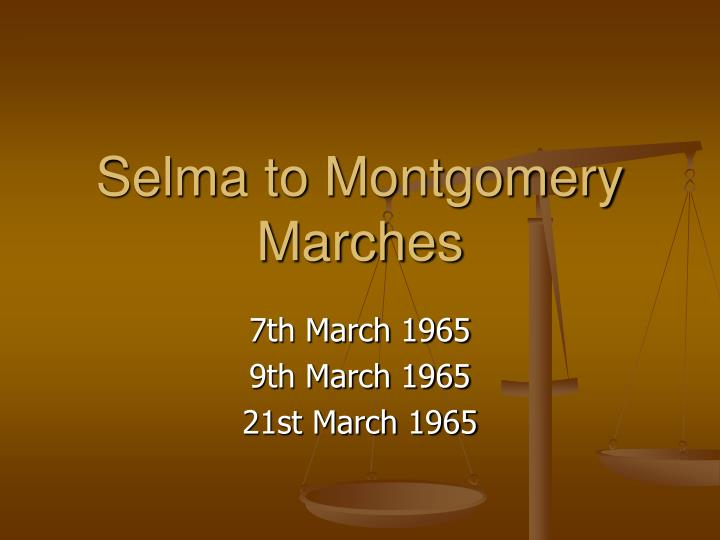 selma to montgomery marches n.
