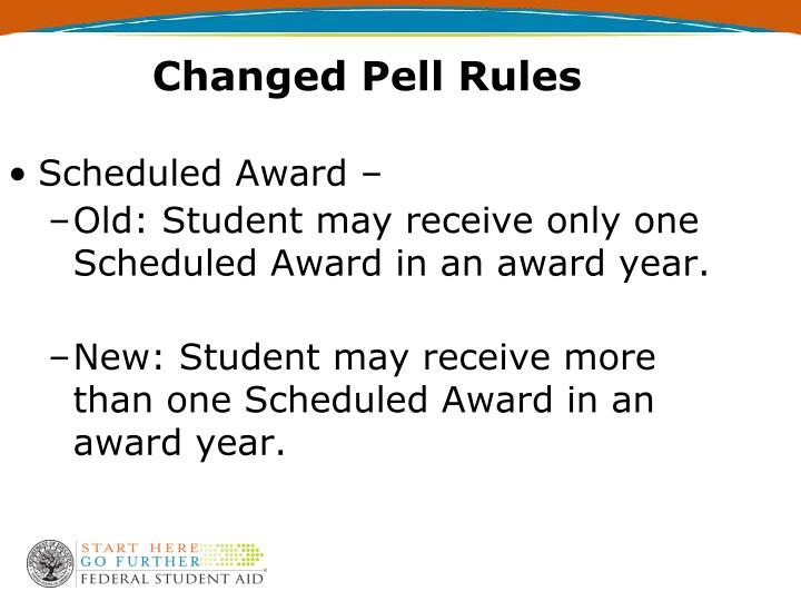Changed Pell Rules