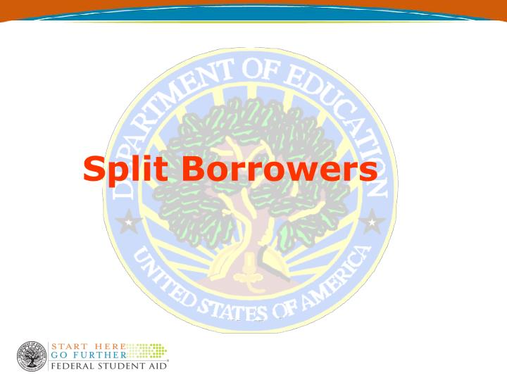 Split Borrowers