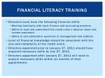 financial literacy training1