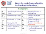 basic course in spoken english for non english speakers1