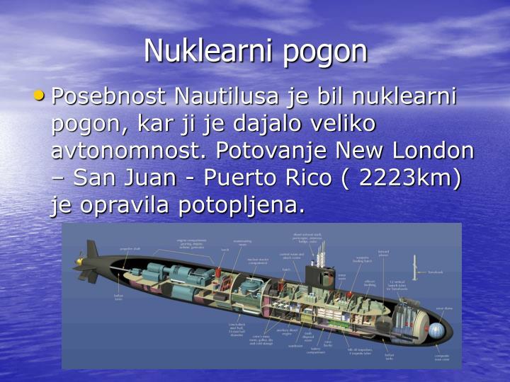 Nuklearni pogon