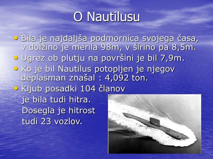 O Nautilusu