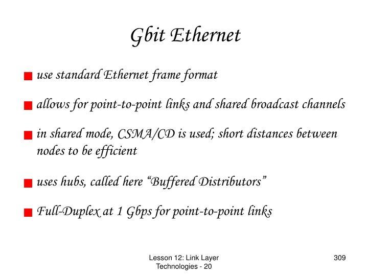 Gbit Ethernet