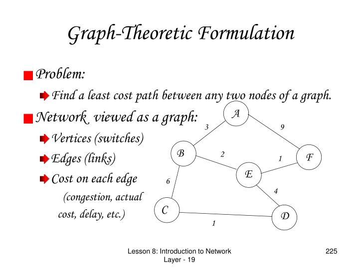 Graph-Theoretic Formulation