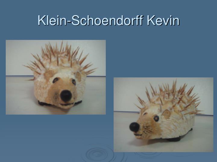 Klein-Schoendorff Kevin