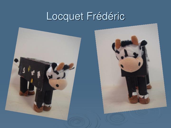 Locquet Frédéric