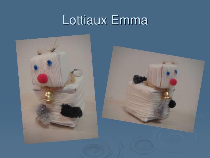 Lottiaux Emma