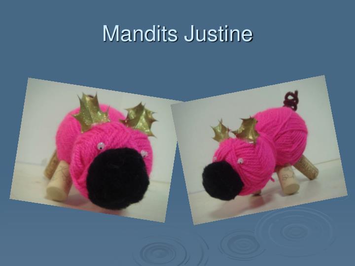 Mandits Justine