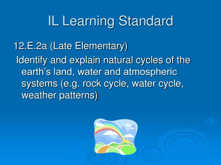 Il learning standard